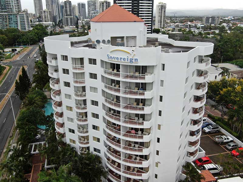 brisbane high rise building window painting gold coast
