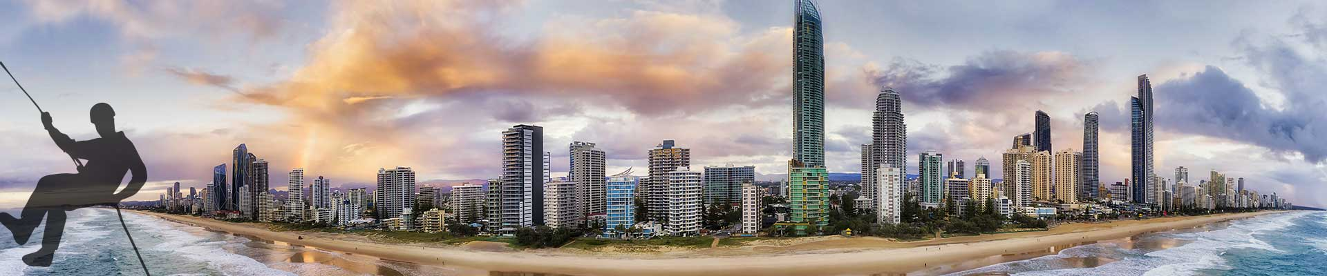 gold coast high rise building cleaner sunshine coast